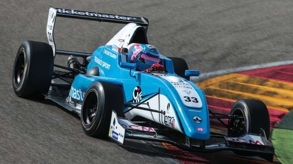 Max Defourny domina in  Eurocup Formula Renault a Motorland