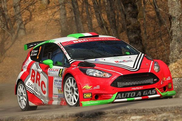 BRC Gas Equipment al Rallye di Sanremo