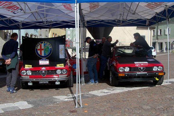 Terminate le verifiche del 6° Valsugana Historic Rally