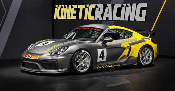 Kinetic Racing Team nel Cayman GT4 Trophy Italia