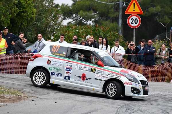 Claudio Vallino e Jacopo Lucarelli in evidenza alla 100th Targa Florio Rally