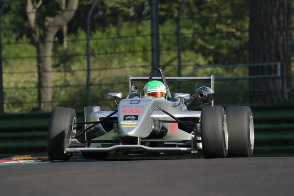 F2 Italian Trophy Qualifiche Imola Andrea Fontana in pole