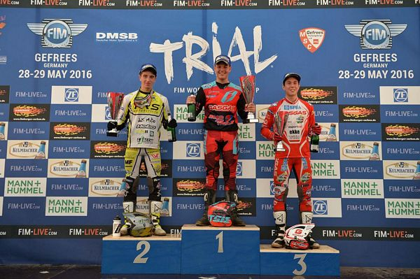 Il Team Trial Junior FMI a podio in Germania