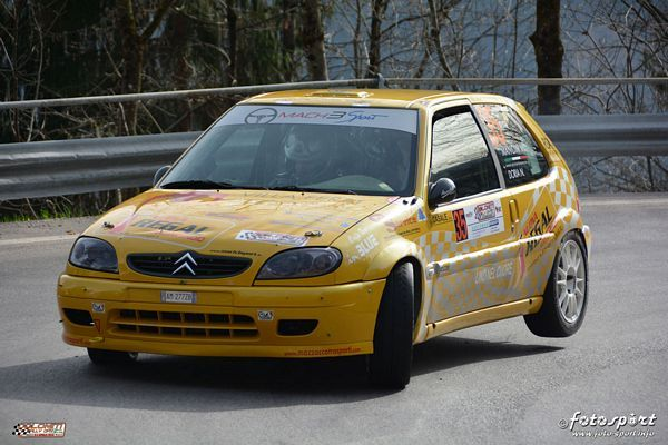 Michele Mancin al Coppa Italia Rally Seconda Zona