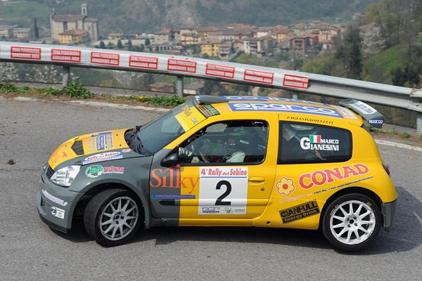GIANESINI E CATTANEO IN S1600 AL 2° RALLY CITTA' DI MANIAGO