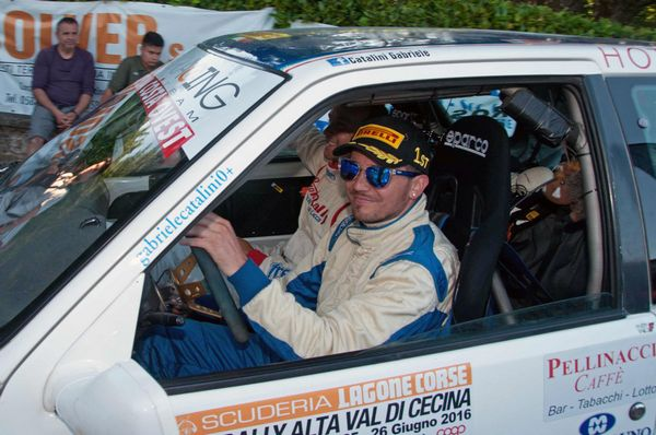 Trofeo rally automobile club Lucca: Gabriele Catalini  al comando