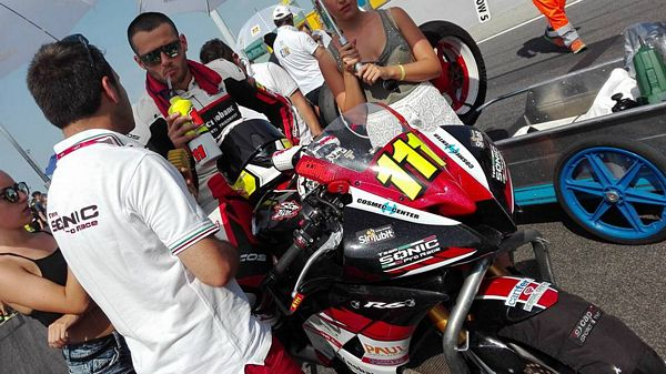 Team Sonic Pro Race sempre a punti a Misano