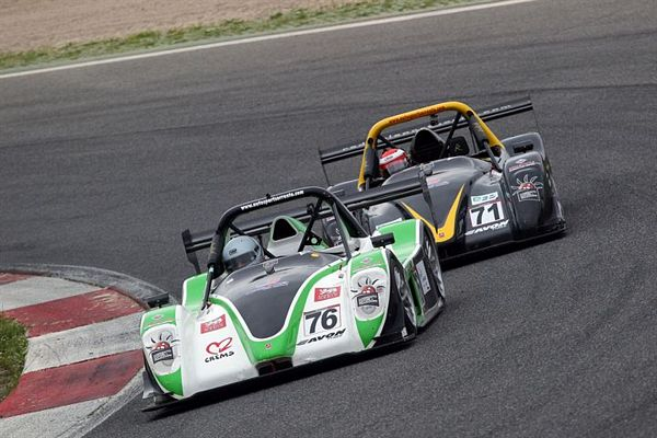 Autosport Sorrento, un poker di Radical in pista a Vallelunga