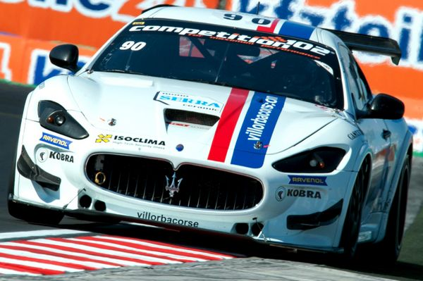 Villorba Corse in trionfo all'Hungaroring con Anselmi-Zamparini