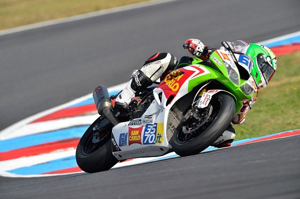 Supersport - Il San Carlo Team Italia a Magny-Cours per conservare la leadership