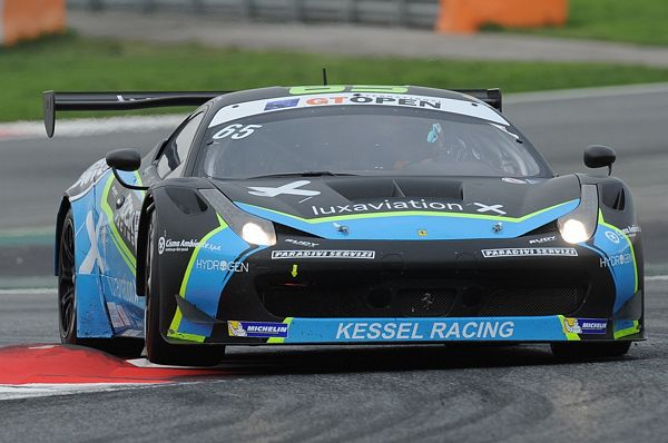 GT Open per Kessel Racing: Earle-Perel sul podio di Barcellona