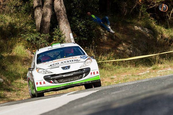 Power car team sul podio in Croazia: Zanon e la 207 s2000 terzi assoluti