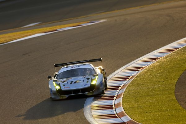 Spirit of Race and T2 Motorsport Blancpain GT Series Asia Ferrari