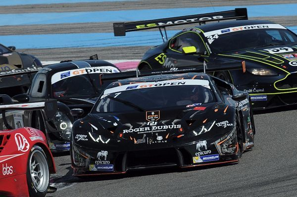 Vitantonio Liuzzi in Gt Open con FFF Racing