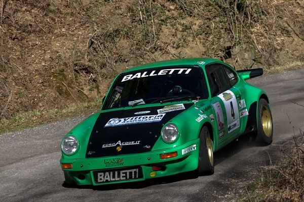 Balletti Motorsport podio al Rally Vallate Aretine