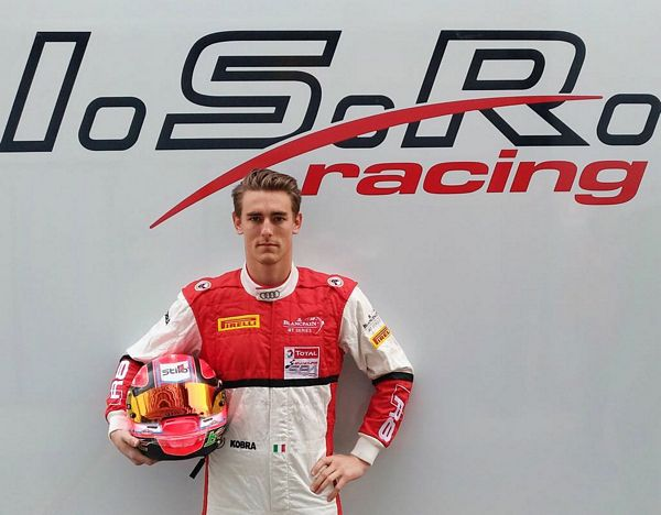 Kevin Ceccon nel Blancpain GT Series Sprint Cup a Misano
