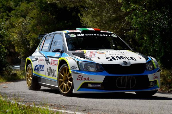 Nucita e il Team Phoenix in due gare top del Campionato Italiano Rally