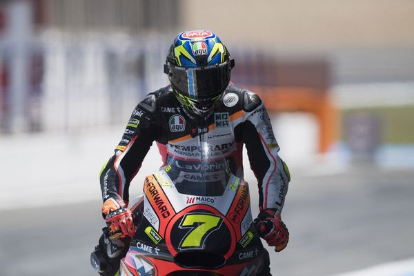 Moto2 Forward Racing Team, Lorenzo Baldassarri Luca Marini