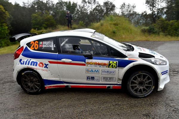 Rally 1000 Miglia con 2 Ford Fiesta R5 per Giesse Promotion