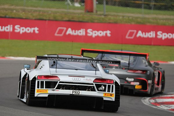 Kevin Ceccon a Zolder nel Blancpain GT