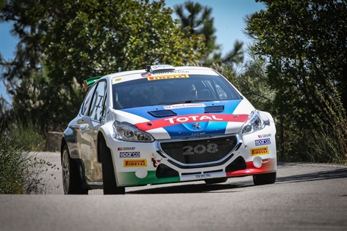 50°Rally del Salento Peugeot determinata a rimanere in testa nel CIR 2017