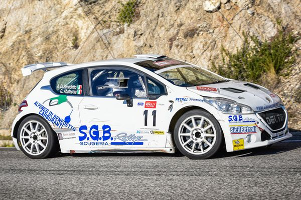 SBG Rally all'attacco del Valle dei Templi con Di Benedetto punta di diamante