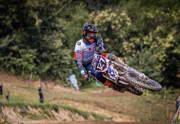 Campione Manuel Ulivi si aggiudica l'International Supercross Italy Series