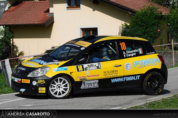 Andrea Casarotto Rally Internazionale Lirenas