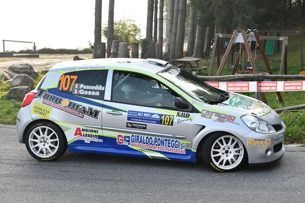 Giesse Promotion al Rally della Val d'Orcia