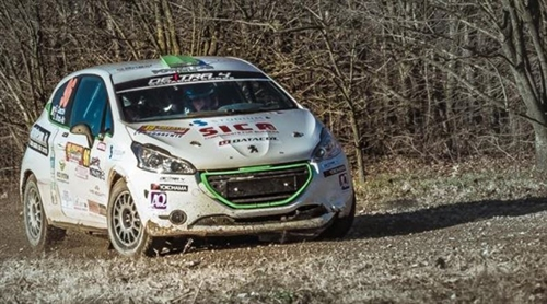Stefano Strabello sarà al via del Campionato Italiano Rally Junior e del Peugeot Competition 208 TOP