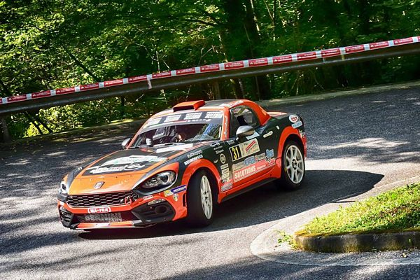 Christopher Lucchesi Trofeo Abarth 124 rally