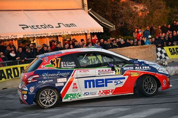 Ciuffi con CST Sport vince la classifica junior al Rally del Ciocco