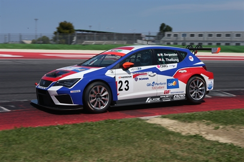 Alessandro Thellung Matteo Bergonzini BF Motorsport TCR Italy