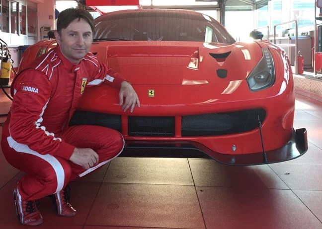 Di Amato Montermini e RS Racing Team su Ferrari 488 nel GT Open