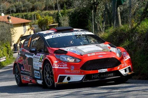 Rally di Sanremo Secondo appuntamento tricolore rally per FORD Racing Italia