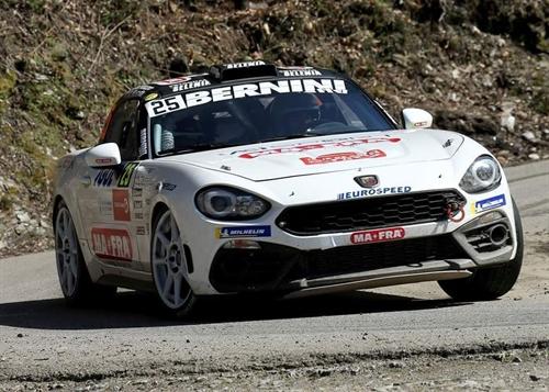 Andrea Nucita Marco Vozzo Fiat 124 Abarth Rally Sanremo