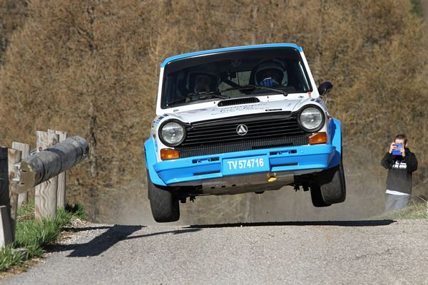 Trofeo A112 Abarth Yokohama Scalabrin Valsugana Historic Rally