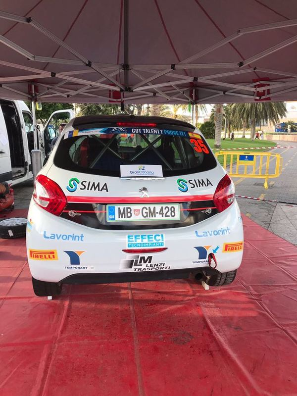 Winners Rally Team all'assalto dell'Europa con Mattia Vita