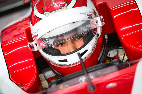 GP3 Pedro Piquet con  Trident Racing