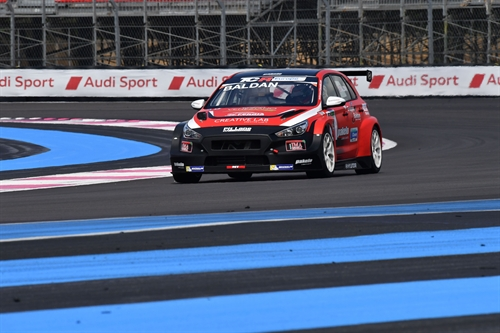 TCR Paul Ricard Qualifica. Nicola Baldan in pole su Hyundai di Pit Lane