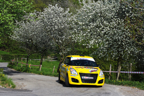 Suzuki Rally Cup, i Top Ten al Rally del Salento