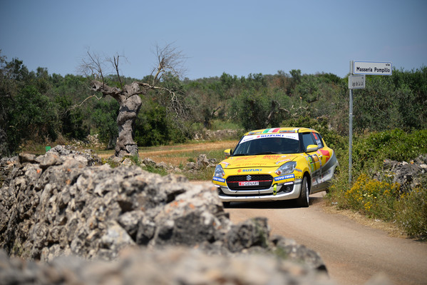 Suzuki Rally Cup: record d