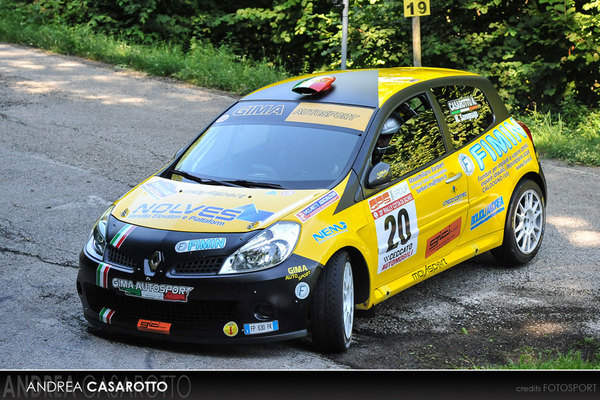 Casarotto al Rally due Valli