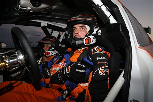 Campedelli e Orange1 al Rally 2 Valli