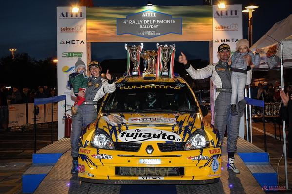 Winners Rally Team e Matteo Giordano trionfano in Piemonte