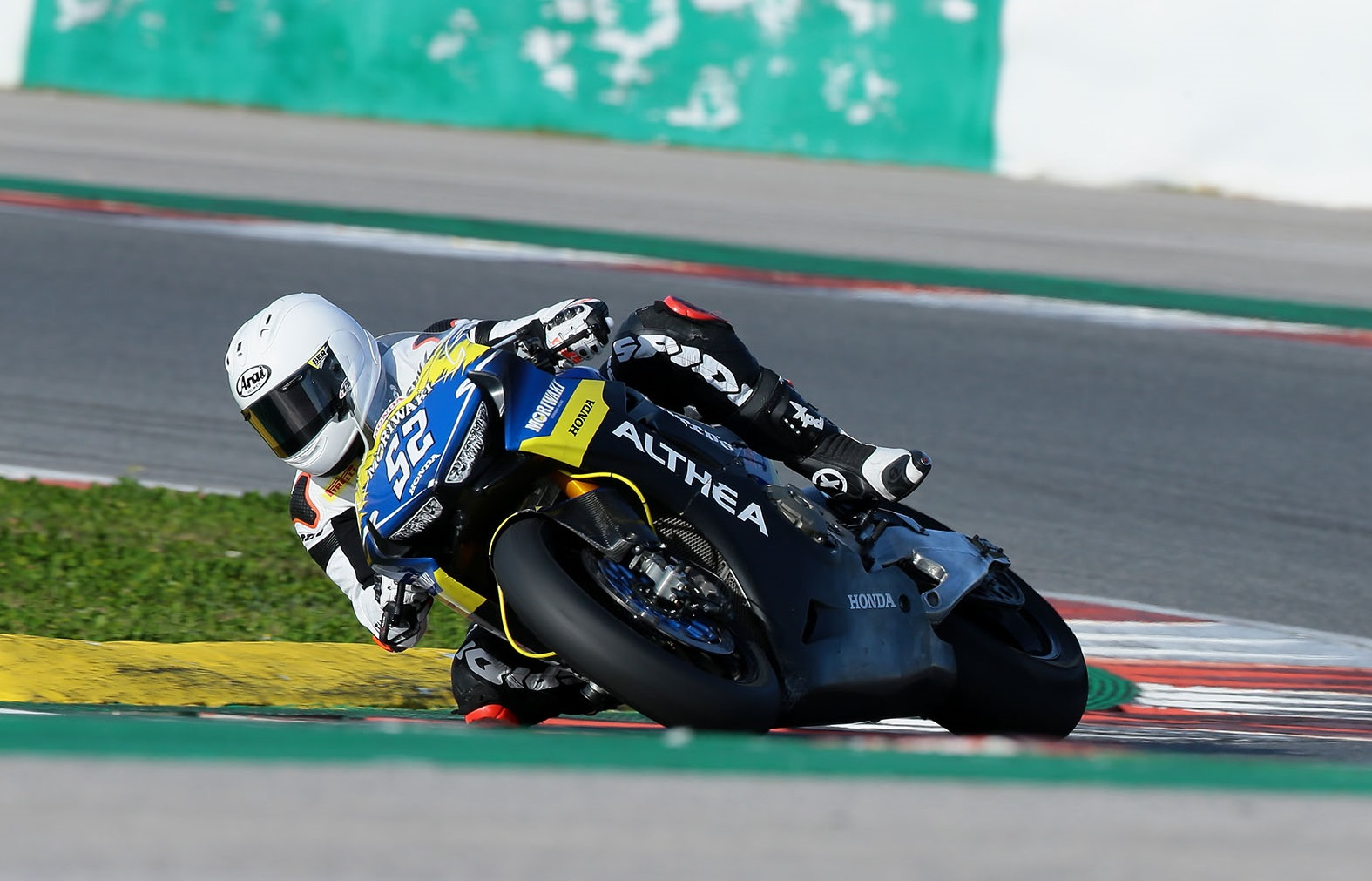Il team Althea MIE Racing conclude i test invernali europei