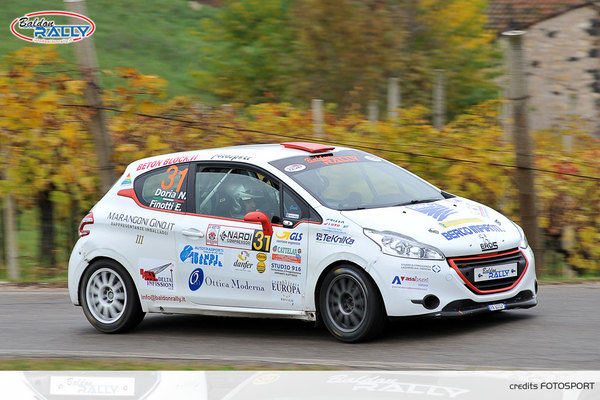 Baldon Rally Bellunese Finotti, Peterlin e Rigodanzo