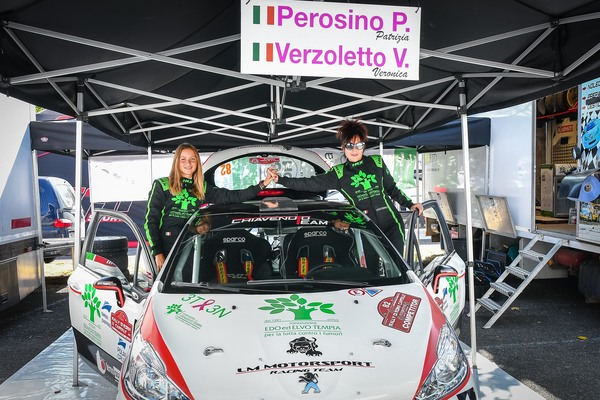 Winners Rally Team il CIR  Patrizia Perosino Veronica Verzoletto