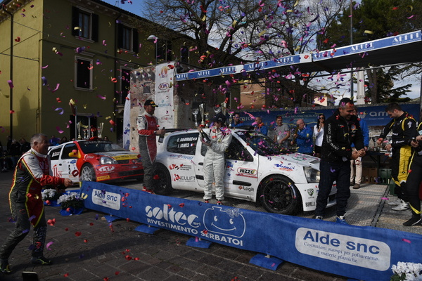 Rally dei Colli Scaligeri Cyril Audirac Jessica James