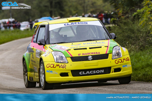 Dolomiti Rally GDA Communication Michele Maschera Renault Clio Super 1600